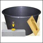 инструменты и материалы для штукатурки стен
