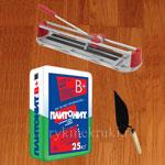 инструменты и материалы для облицовки плиткой