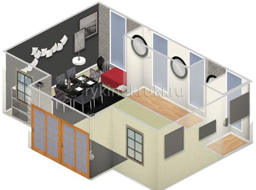 программа для проектирования комнаты