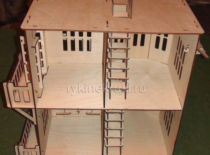 как сделать кукольный домик