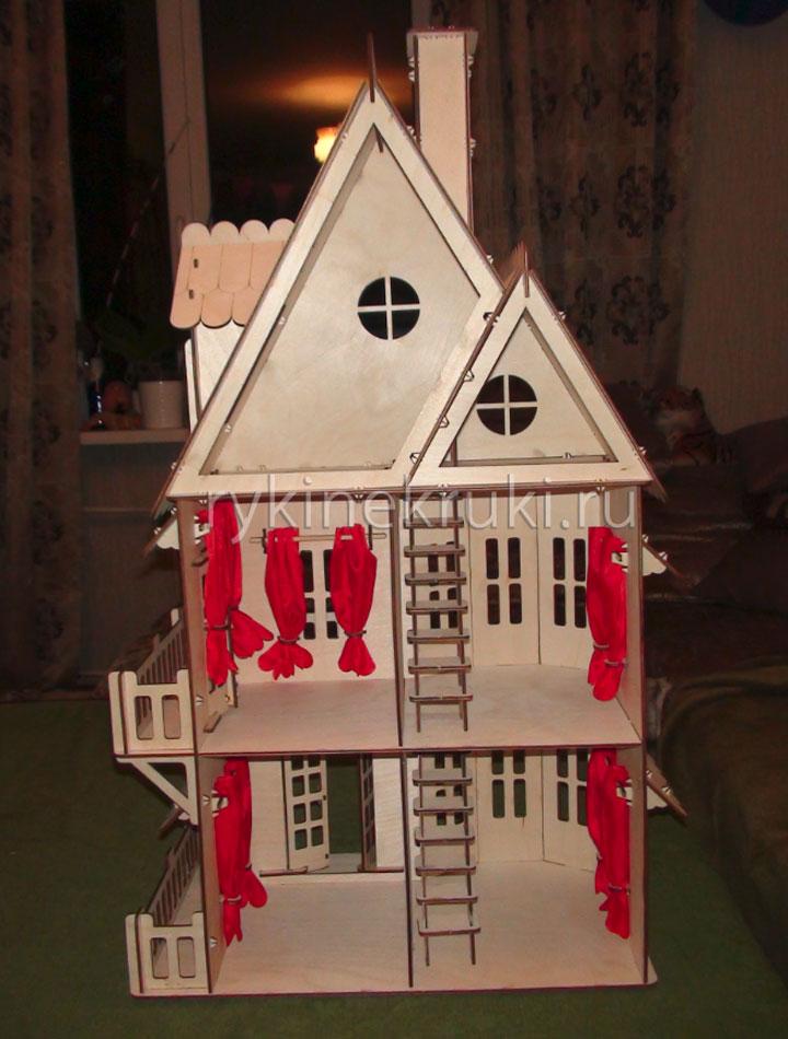 сборка домика для кукол