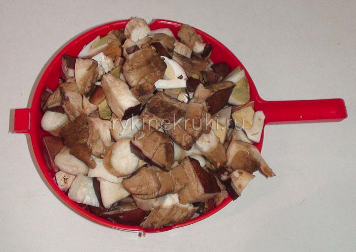 мариновка грибов своими руками