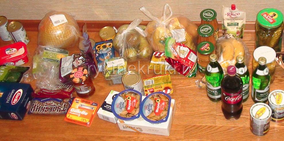 Доставка продуктов питания до дома по СПб и Москве