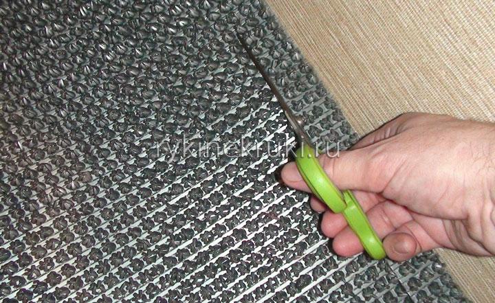 как постелить коврик в прихожую своими руками