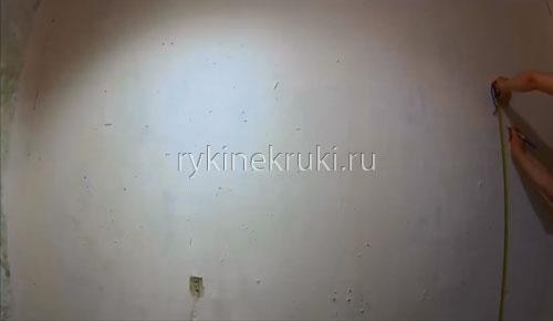 как разметить стену под гипсокартон