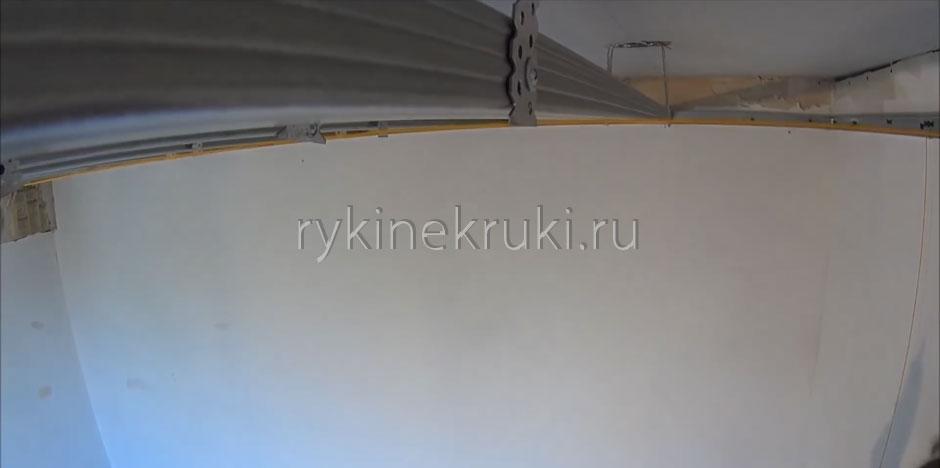 потолок из гипсокартона монтаж каркаса