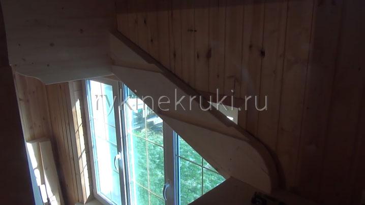 установка винтовой лестницы своими силами