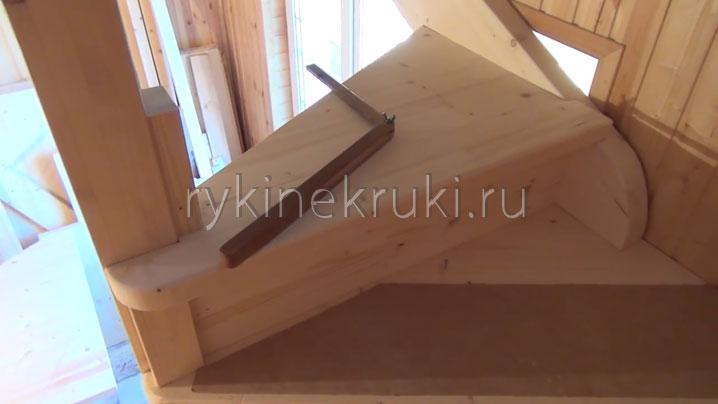 как смонтировать винтовую лестницу