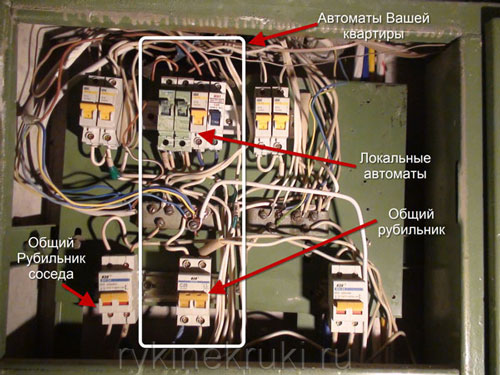 электрощиток для квартиры