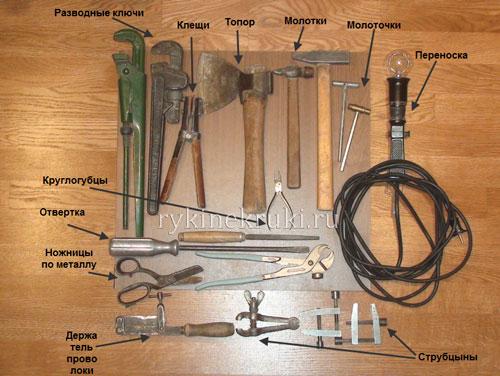дедушкин инструмент