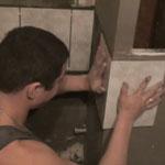 как укладывать плитку на внешних углах ванной комнаты
