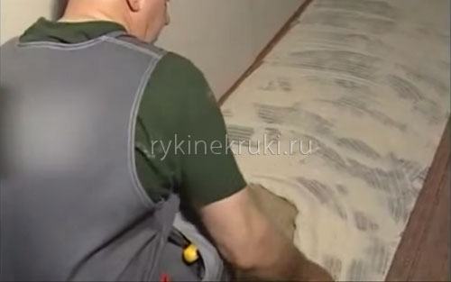 ковролин в интерьере