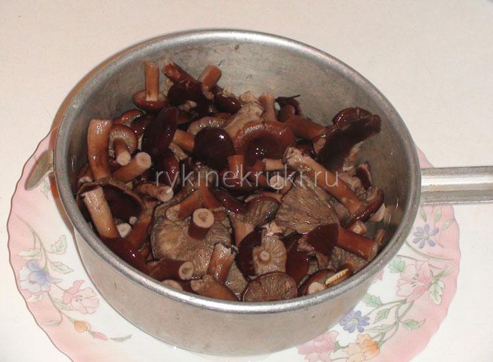 как солить грибы дома