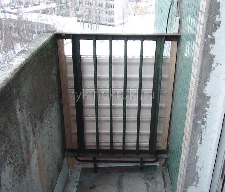 балкон сайдингом своими руками