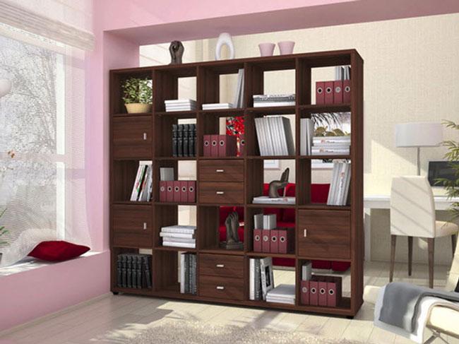 Шкаф-перегородка для комнаты