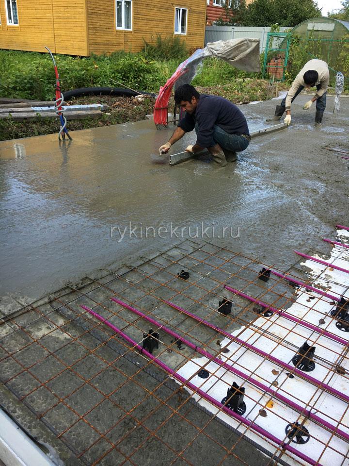 как сделать водяной пол
