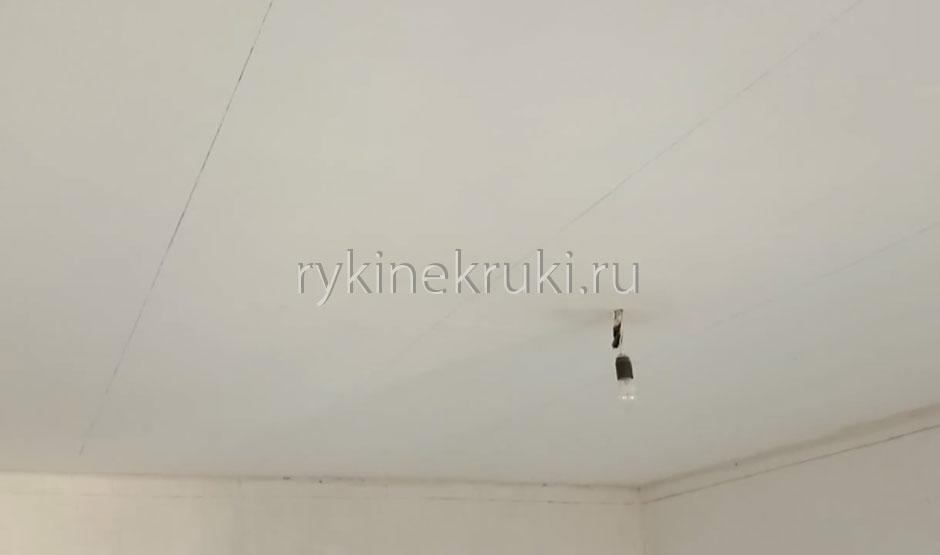 как разметить потолок под гипсокартон