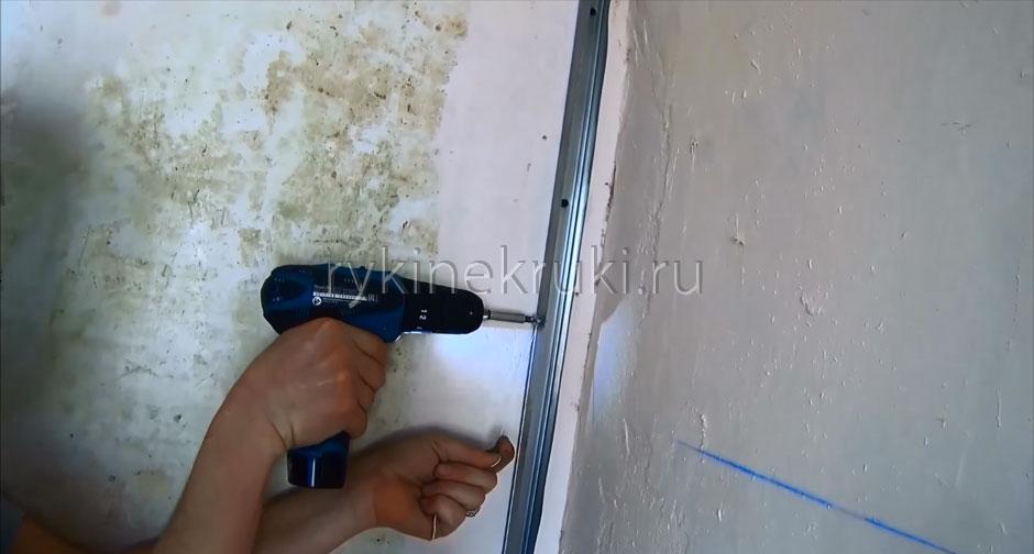 как сделать стену из гипсокартона