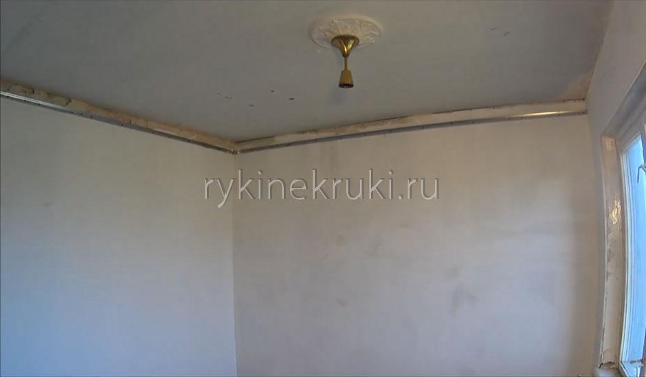 каркас под гипсокартон на потолок