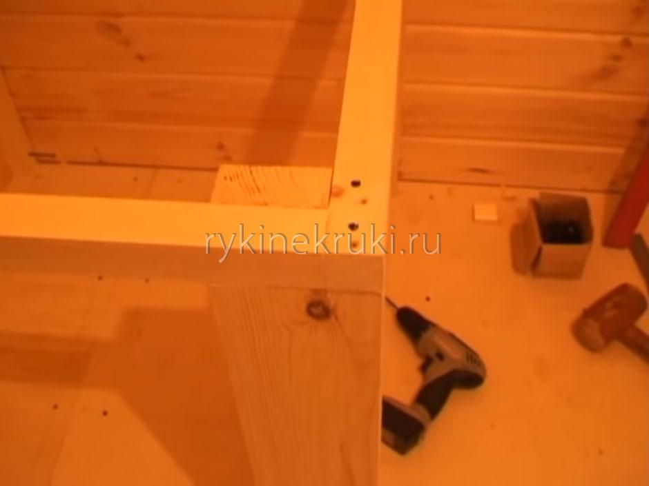 лестница на второй этаж дачи своими руками