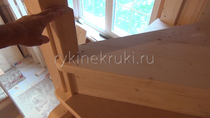 монтаж винтовой лестницы своими руками